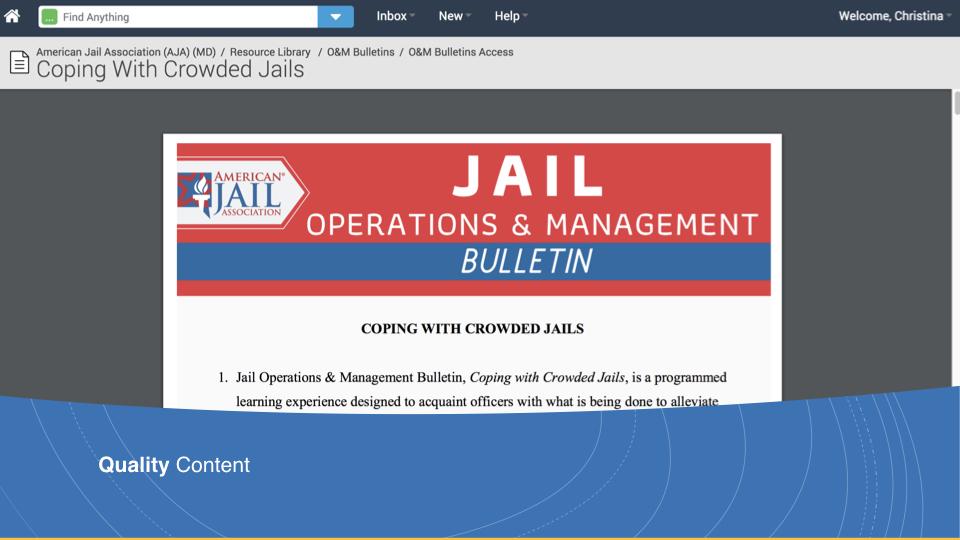 O&M Bulletins