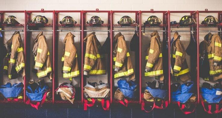 fire fighter's gear