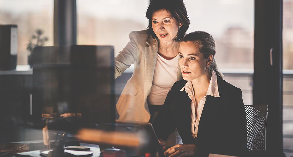 coworkers developing procedure guidelines