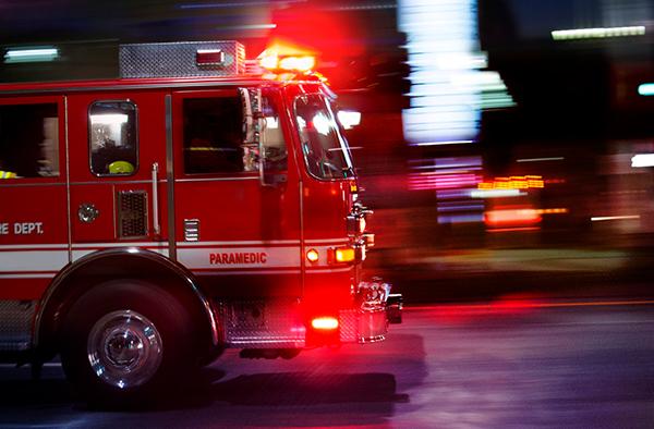 fire truck ride-along